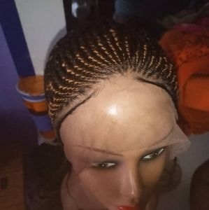 Full lace cornrow wig